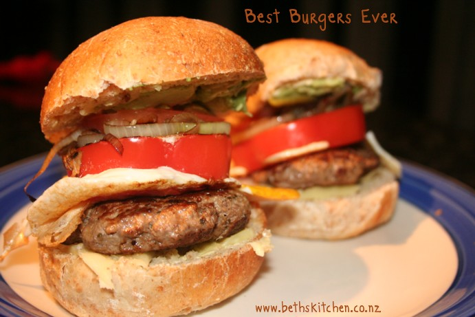 Best Burgers Ever | Beth's Kitchen