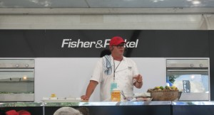 Al Brown at Marlborough Wine & Food Festival