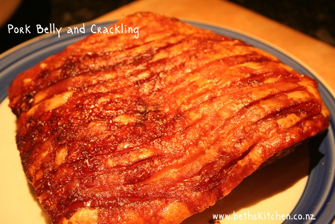 Roast Pork Belly with Crackling